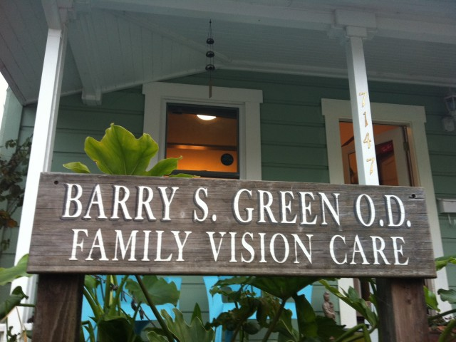 Barry S. Green O.D. is a family eye care specialist with an office in Sebastopol, convenient for west Sonoma County residents.